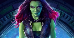 Создать мем: Gamora from the Guardians of the Galaxy