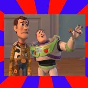 Создать мем: Buzz and Woody генератор мемов