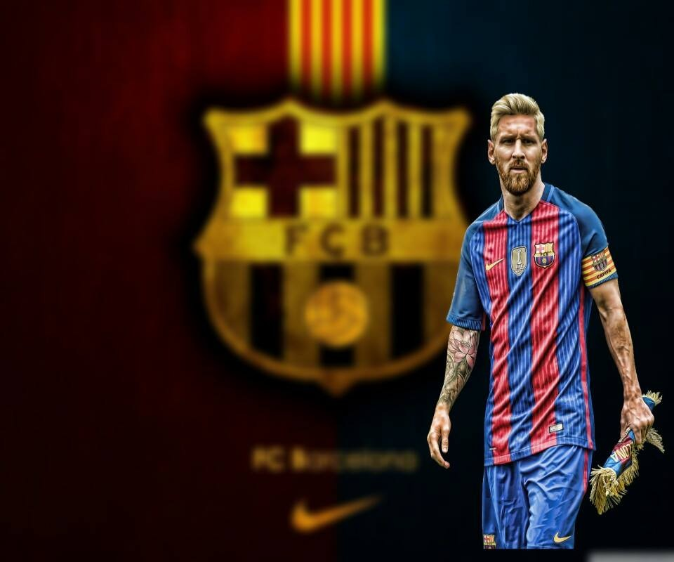 Create Meme Fc Barcelona Wallpaper For Iphone Messi