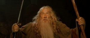 Create meme: Wallpapers you shall not pass, memes , lord of the rings