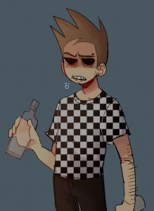 Создать мем: monster tom eddsworld skin, eddsworld tom x tord, Eddsworld