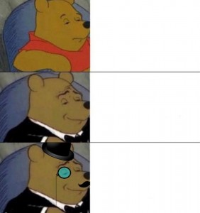 Создать мем: what the fuck am i reading, really makes you think, winnie the pooh fif