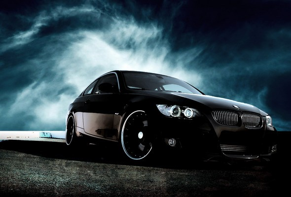 Wallpapers cars BMW black