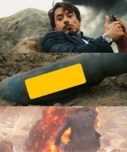 Создать мем: tony stark meme, tony stark screencaps, тони старк взрыв