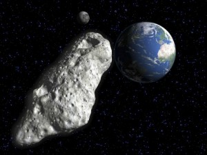 Создать мем: A huge asteroid is flies to the planet earth