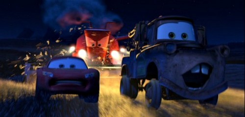 Create Meme Mater And Lightning Mcqueen Escape From Frank Mater