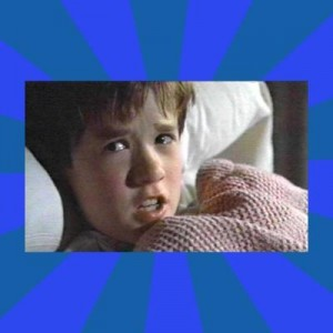 Создать мем: the sixth sense, i see dead people, haley joel osment