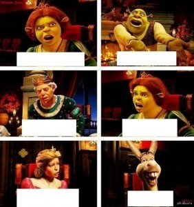 Create meme: shrek 2 , Harold , comics