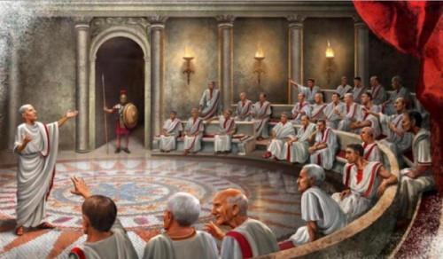 "Create meme ""The Senate (The Senate , ancient Rome , in ancient ..."