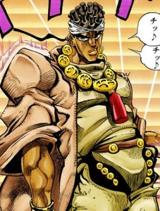 Создать мем: JoJo's Bizarre Adventure: Stardust Crusaders, jojo s bizarre adventure eyes of heaven, jojo s bizarre adventure