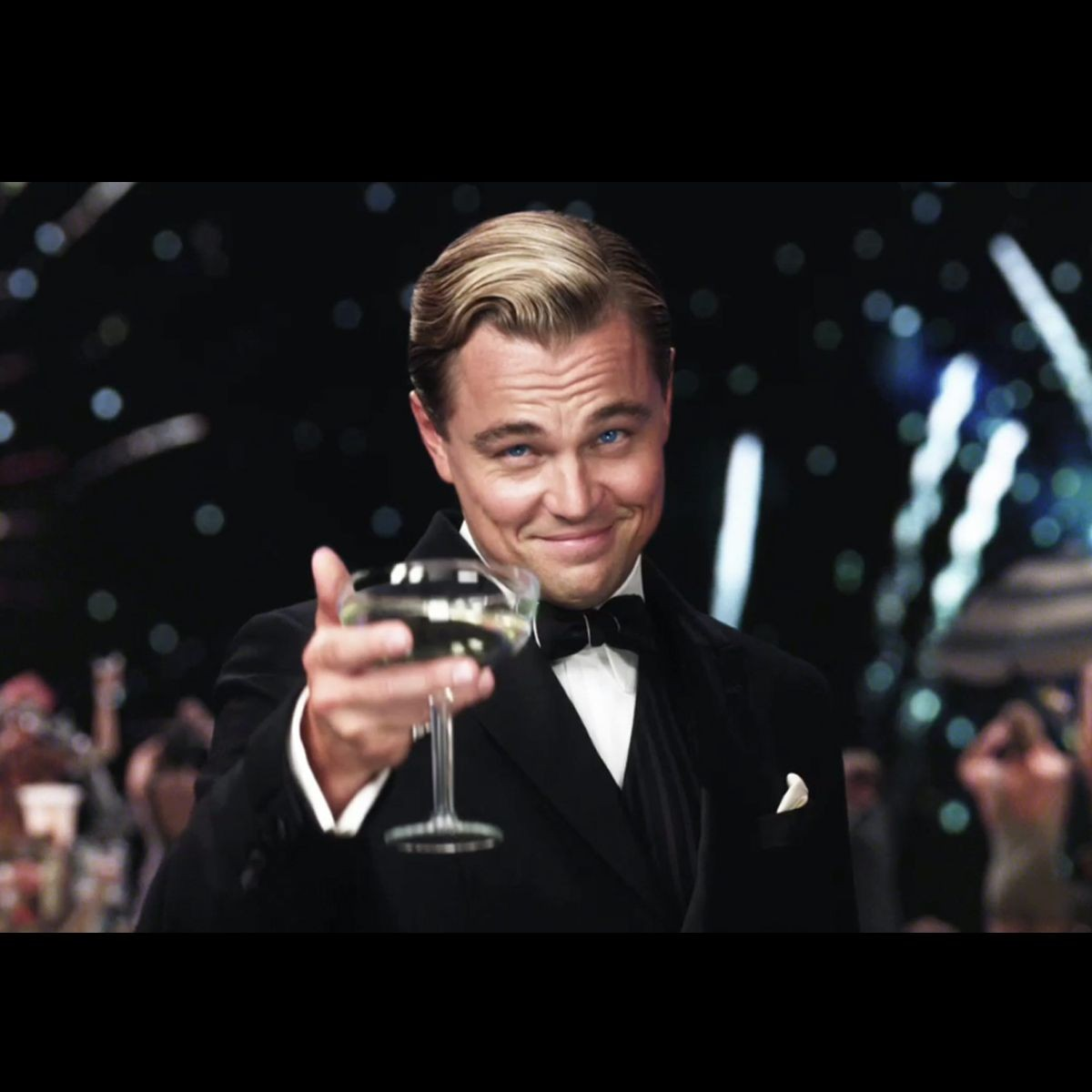 """Create Meme """"the Great Gatsby The Glass , A Toast To Those"""