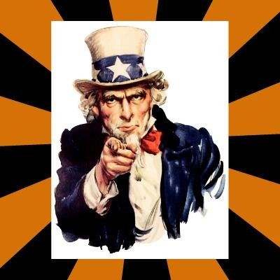 Template Uncle Sam I Want You