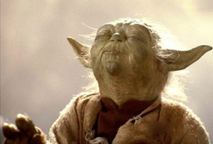 Create meme: Yoda meditates, Yoda meditates, Yoda says in star wars memes