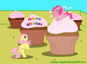 Create meme: Fluttershy and pinkie