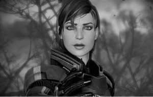Create meme: jane shepard, mass effect 3 , commander shepard