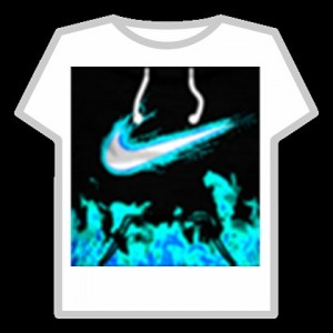 Создать мем: nike t shirt roblox, найк для роблокс, roblox t shirt black nike