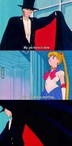 Create meme: didn't, I , sailor moon