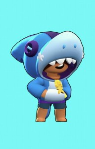 Создать мем: brawl stars leon shark картинки, бравл старс, Brawl Stars