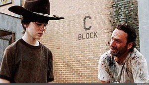 Create Meme Carl Meme Template The Walking Dead Rick And Carl Meme