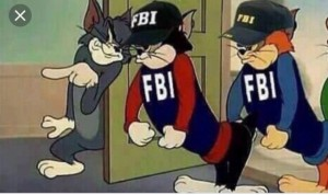 Создать мем: fbi agent, reply to, fbi meme