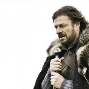 Создать мем: brace yourself, is coming, game of thrones