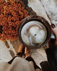 Создать мем: осень кофе, autumn coffee tumblr, creamer for coffee