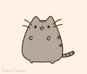 Создать мем: pusheen cat, pusheen, kawaii