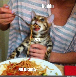 Create Meme Cat Eating A Salad The Cat Eats The Pasta Cat Fed