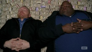 Create meme: breaking bad money , the winds are on the money, in all serious money