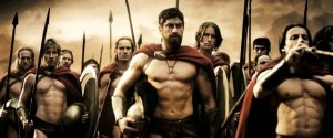 Create meme: Sparta actors, Boris Moshkin Spartan, 300 Spartans workout