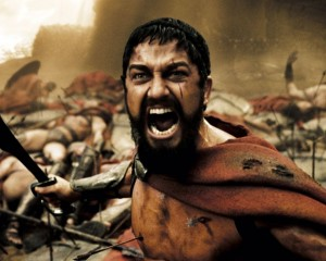 Create meme: this is sparta , leonidas , this is Sparta