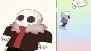 Создать мем: trndsttr........i think // meme dust sans, мемы андертейл санс, lust sans