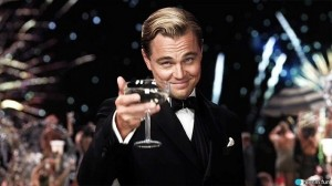 Create meme: raise a glass for those, a toast to those MEM , DiCaprio with a glass in good quality