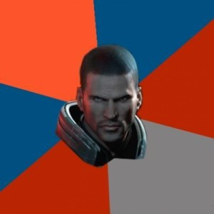 Create meme: Shepard Says , commander shepard , mass effect trilogy