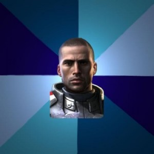 Создать мем: Blatant Commander Shepard, mass effect memes, shepard mass effect