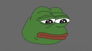 Create meme: Pepe the frog is crying, Pepe the frog, pepe the frog