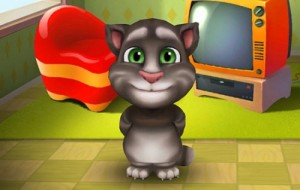 Создать мем: Talking cat Tom