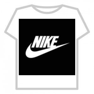 Создать мем: или nike, t-shirts roblox черный найк, roblox t shirt black nike