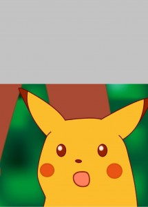 Create meme: surprised pikachu meme, Pikachu is surprised, amazed pikachu meme
