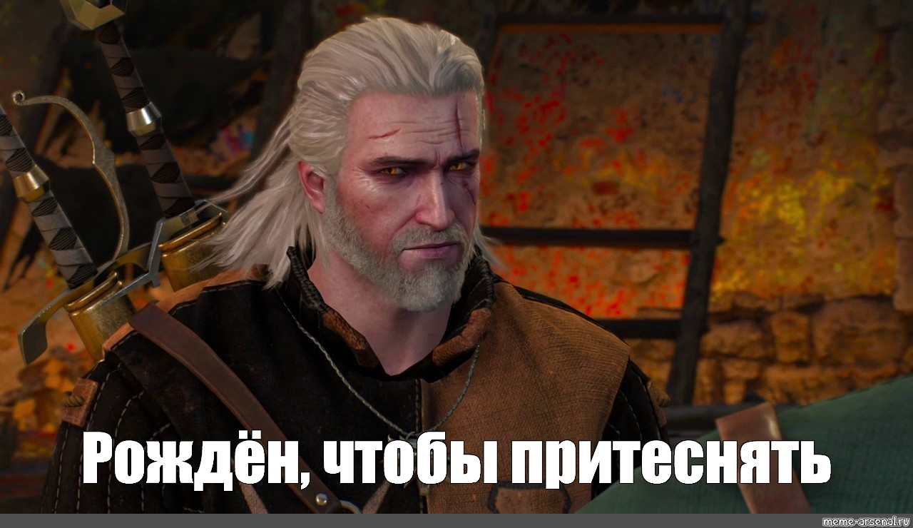 Meme The Witcher 3 Herald Geralt Of Rivia Photo All