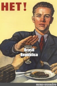 Create meme: propaganda poster, posters of the USSR , poster no