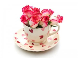Create meme: GIF good morning my love, the Cup of happiness for. you, good morning friday flowers