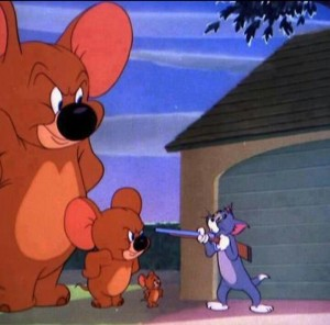 Create meme: Tom and Jerry big Jerry, Tom and Jerry meme template, Tom and Jerry elephant