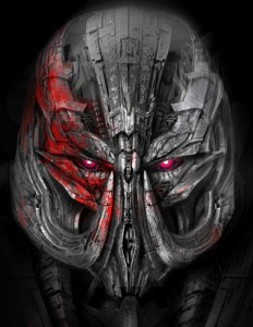 Create meme: Megatron Transformers 5 The last knight 2017