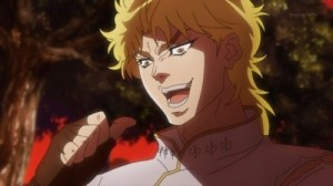 Создать мем: it was me dio, dio brando, kono dio da