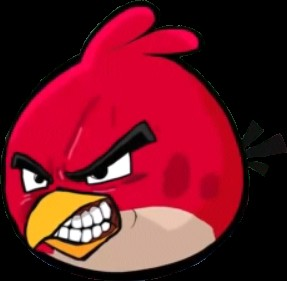 Создать мем: Angry birds Red Dragon Ball 2