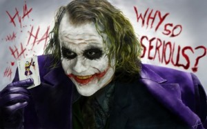 Создать мем: Joker Why So Serious