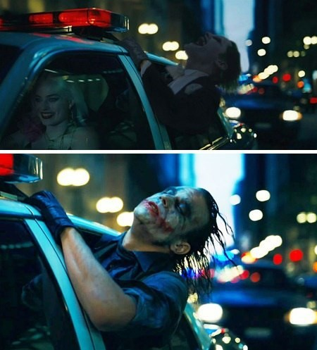 create meme styled authentic styled authentic joker the dark