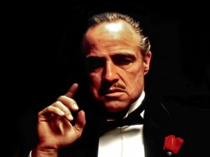 Создать мем: the godfather, vito corleone, корлеоне