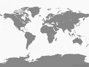 Создать мем: world map png, world map bw, free vector world map, political map of the world